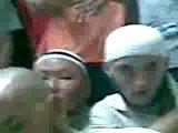Мавлет Батыров на лекции Саида Бурятского, во время хаджа